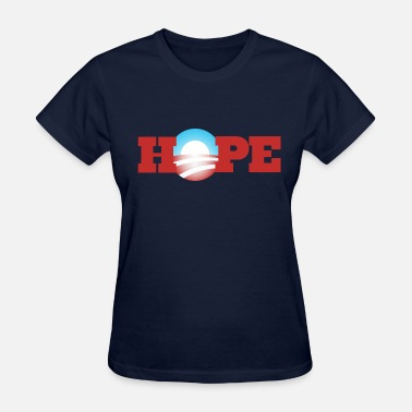 Obama Hope Hope Obama 2012 - Women's T-Shirt