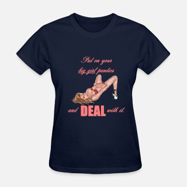 Pantie Big Girl Panties - Women's T-Shirt
