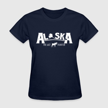 Alaska Womens AlaskaSpreadshirt.png - Women's T-Shirt