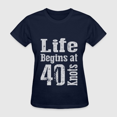 Life Begins at 40  - Women's T-Shirt