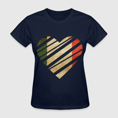 Italy Heart - Women's T-Shirt