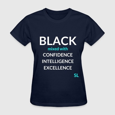 Black mixed with Shirt - Women's T-Shirt