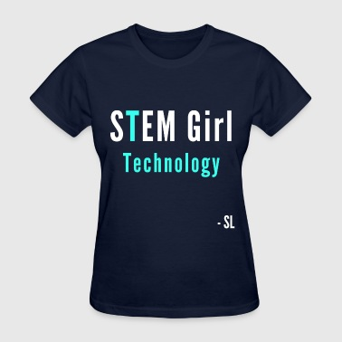 STEM Girl Technology Tee - Women's T-Shirt