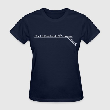 Wicked Smart Smaht Boston Accent  - Women's T-Shirt