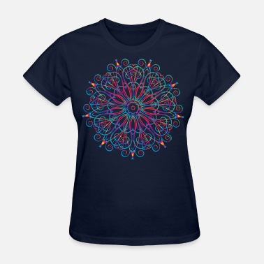 Hipster flower Design - Women's T-Shirt