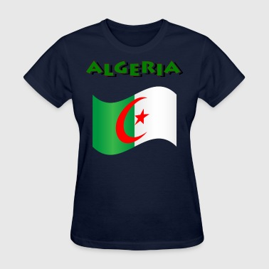 Flag Of Algeria - Women's T-Shirt