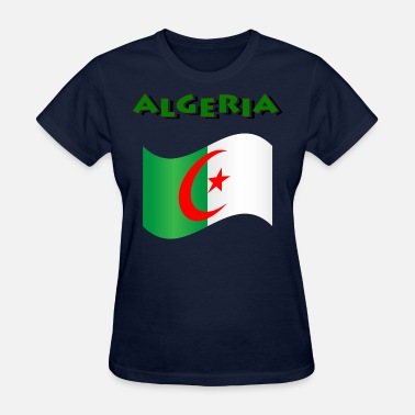 Algeria Flag Flag Of Algeria - Women's T-Shirt