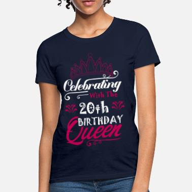 20th Anniversary Celebrating With The 20th Birthday Queen - Women's T-Shirt