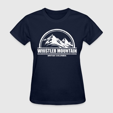British Columbia Whistler Mountain - Women's T-Shirt