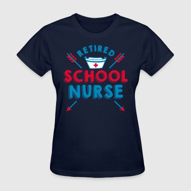 Retired School Nurse - Women's T-Shirt