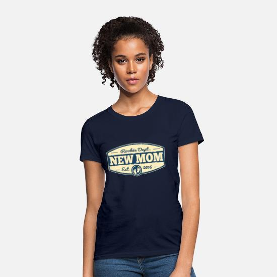 Mom To Be T-Shirts - New Mom 2016 - Women's T-Shirt navy