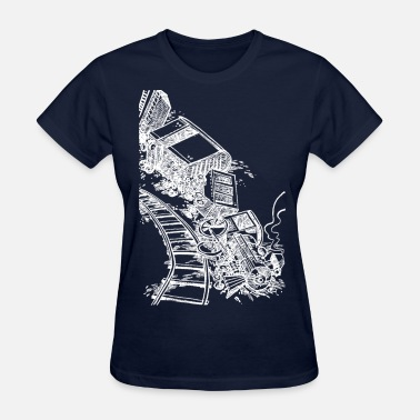 Train Wreck Train Wreck - Women's T-Shirt