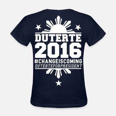 Duterte Duterte 2016 - Women's T-Shirt