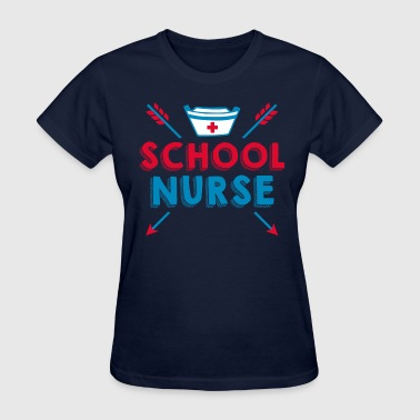For Nursing School School Nurse - Women's T-Shirt