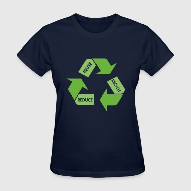 Recycle Reuse Reduce - Women's T-Shirt
