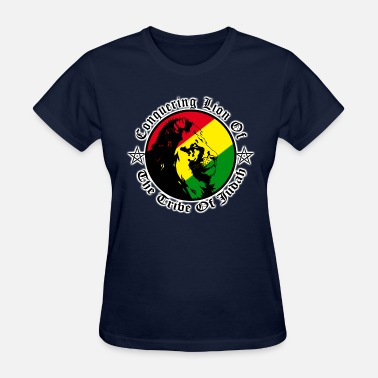 Lion Of Judah conquering lion of the tribe of judah - Women's T-Shirt