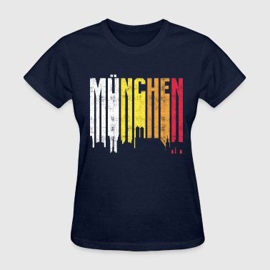Beer Font Retro Font Munich - Women's T-Shirt