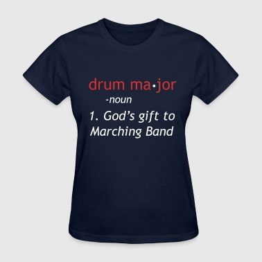 Definition of Drum Major - Women's T-Shirt