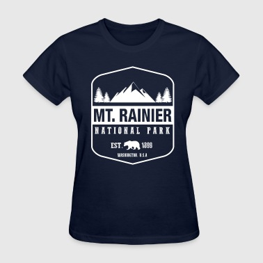 Mt. Rainier National Park - Women's T-Shirt