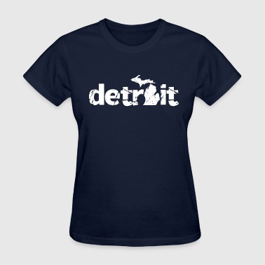 DETROIT MICHIGAN - Women's T-Shirt