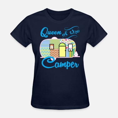 Trailer Queen Of The Camper - Women's T-Shirt