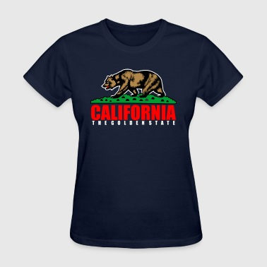 California The Golden State Republic - Women's T-Shirt