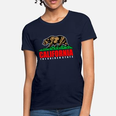 The Golden State California The Golden State Republic - Women's T-Shirt