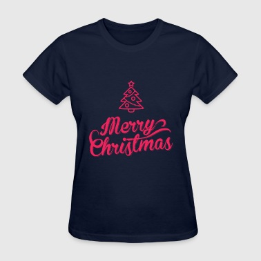 Merry, Merry Christmas - Women's T-Shirt