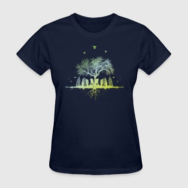 Unique citytree - Women's T-Shirt