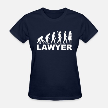 Lawyer Evolution Lawyer - Women's T-Shirt