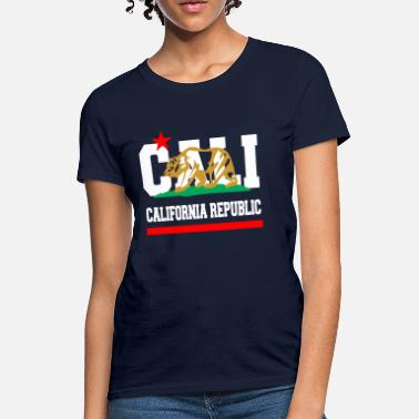 New California Love California Republic New Golden - Women's T-Shirt