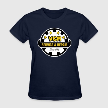 VCR - Service and Repair - Women's T-Shirt