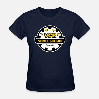 Repair Service VCR - Service and Repair - Women's T-Shirt