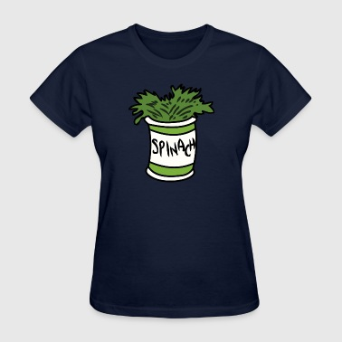popeye spinach - Women's T-Shirt