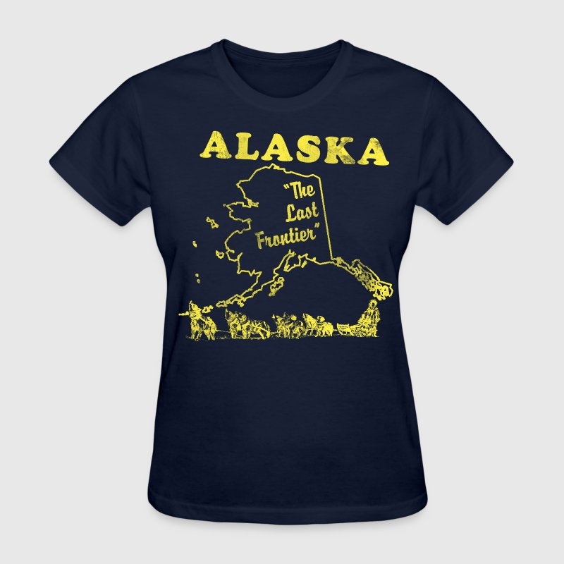 alaska the last frontier vintage - Women's T-Shirt