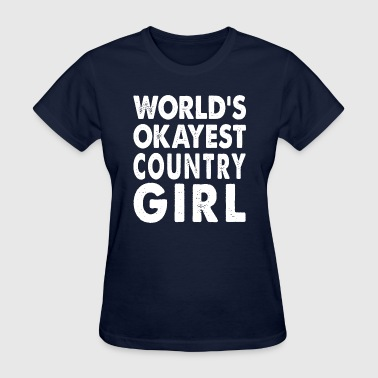 World's Okayest  - Women's T-Shirt