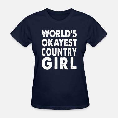 Worlds Okayest World's Okayest  - Women's T-Shirt