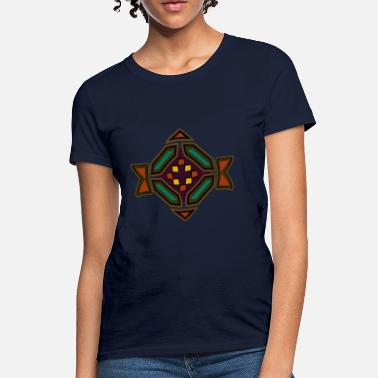Native American Symbols southwest design - Women's T-Shirt