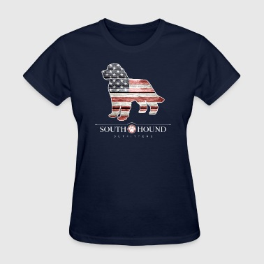 Patriotic Newfoundland - Women's T-Shirt