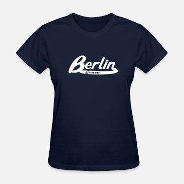 Berlin Logo Berlin Germany Vintage Logo - Women's T-Shirt