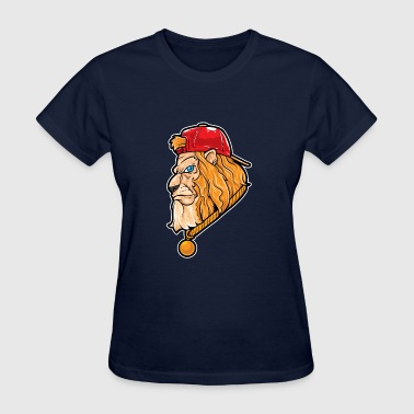 Hip Hop Lion | Lion Swag | Fearless Lion - Women's T-Shirt