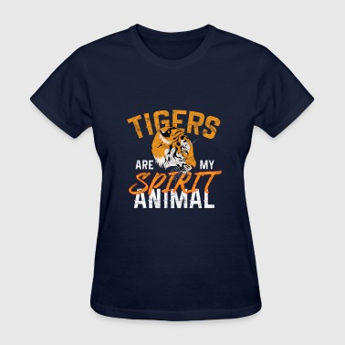 Big Cats - Tigers are my spirit animals - Women's T-Shirt
