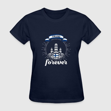 Country Shirt - Finland Forever - Women's T-Shirt