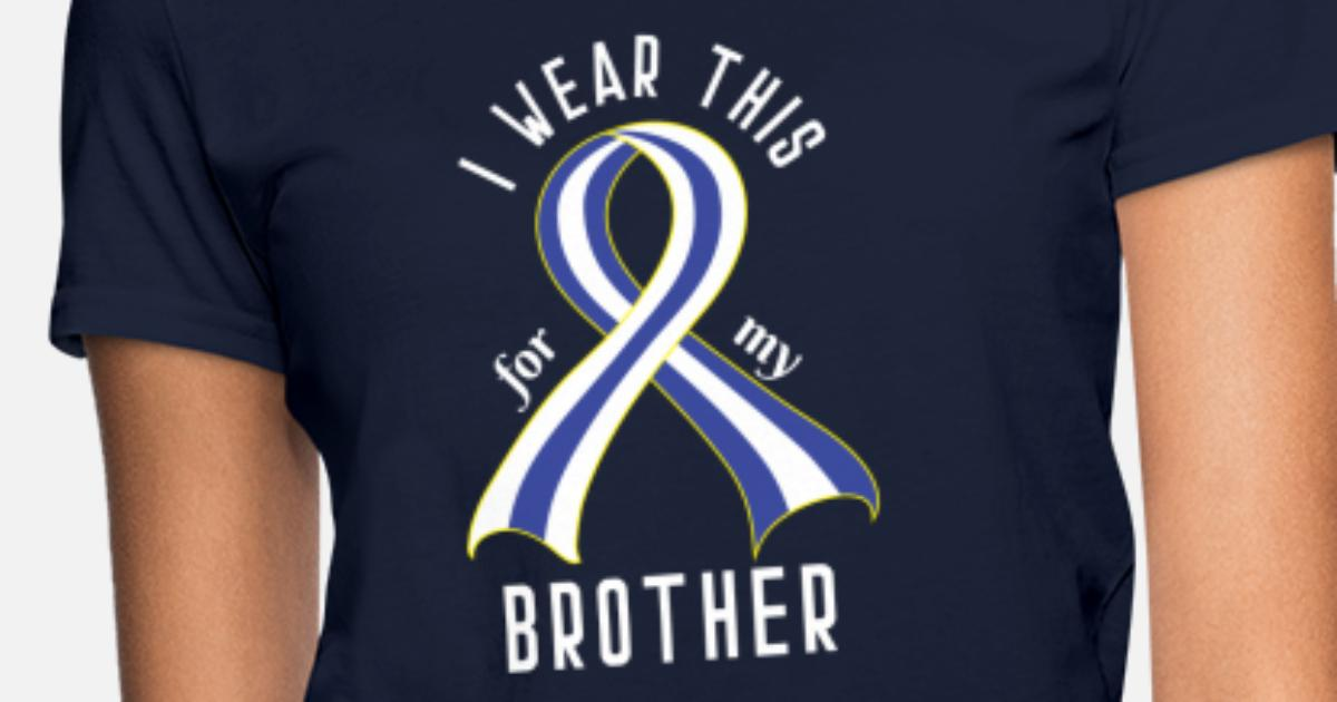 ALS Awareness Ribbon for Brother Women's T-Shirt | Spreadshirt
