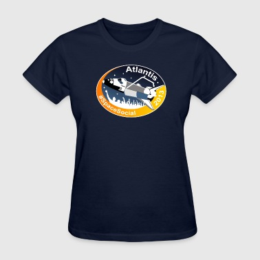 Atlantis Space Social - Women's T-Shirt