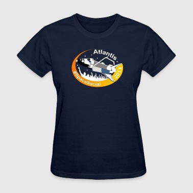 Atlantis Space Social (Simple) - Women's T-Shirt