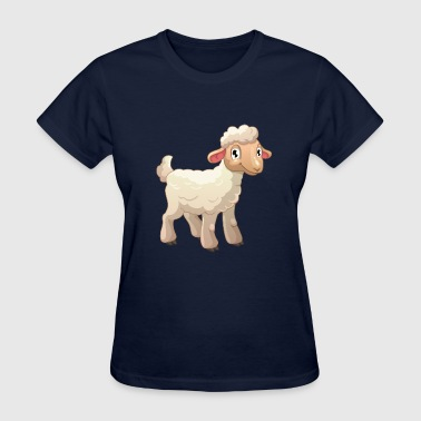 Cute smiling lamb - Women's T-Shirt