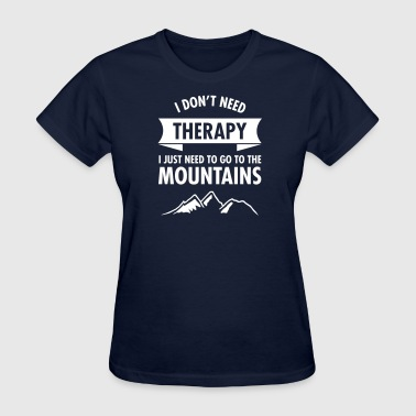 Therapy - Mountains - Women's T-Shirt