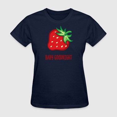 baby goodnight raspberry - Women's T-Shirt