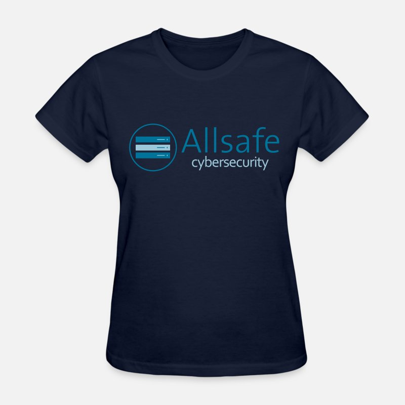Tv T-Shirts - mr robot fsociety allsafe - Women's T-Shirt navy